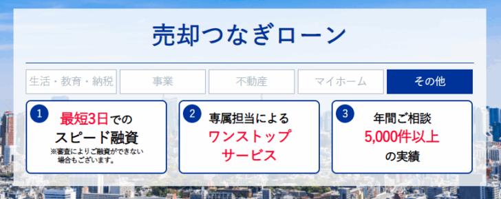 SBIエステートファイナンス不動産担保ローン/売却つなぎローン
